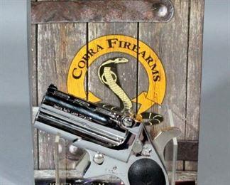Cobra Derringer CB9 9mm Pistol SN# CT166983 With Paperwork, In Original Box