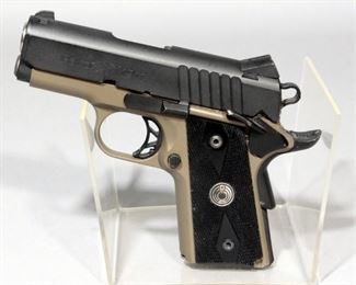Para Ordinance 1911 Slim-Hawg .45 ACP Pistol SN# P162757 With Holster, Extra Mag, Paperwork, Hard Case, And More