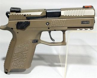 CZ P-07 9x19mm Pistol SN# C105672 With Hard Case And Paperwork