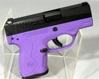 Beretta BU Nano 9 Para Pistol SN# NU124966 With Two Mags, Hard Case, Paperwork And Lock