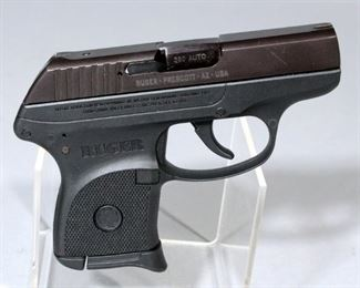 Ruger LCP .380 Auto Pistol SN# 376-73808 With Soft Case, Paper Work and Box