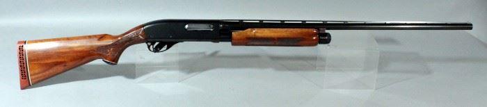 Remington Wingmaster Model 870 20 Ga. Pump Action Shotgun SN# S231965X With Paperwork And Soft Case
