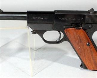 High Standard Sport-King SK-100 .22LR Pistol SN# 620790 With Soft Holster