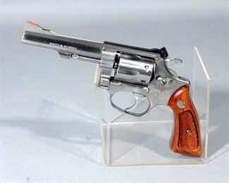 Smith & Wesson Model 651-1 .22MRF Six-Shot Revolver SN# BFV6558 With Paperwork And Box