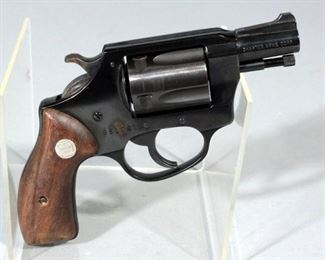 Charter Arms Undercover .38SPL Five-Shot Revolver SN# 651061 With Soft Belt Holster
