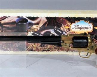 "F.LLI Pietta 1858 Buffalo .44 Cal Black Powder Revolver, 12"" Barrel, SN# R261711, In Box"
