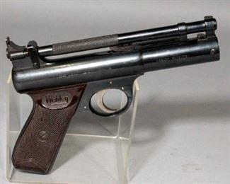 """Webley And Scott Webley """"Senior"""" Air Pistol, Made In England"""