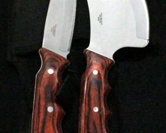 Ridge Runner RR440 2-Knife Set in Vinyl Sheath, In Original Box