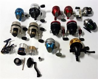 Fishing Reels Including Durango, Bass Pro, Zebco, Shakespeare And More