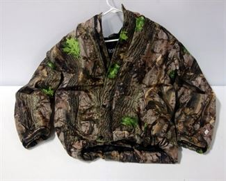 Totes Camo Hooded Hunting Jacket Size L And Two St. John's Bay Hunting Vests Size XXL