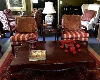 Living room full of American furniture!
