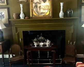 Victorian fireplace!
