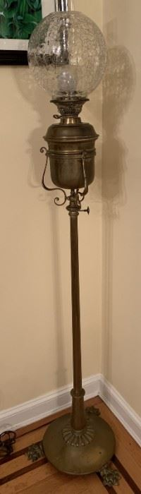 Brass Aladdin Floor Lamp