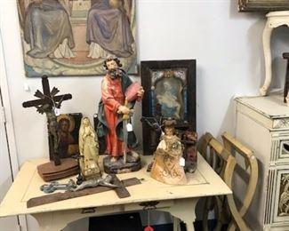 Estate Sale Religious Art
