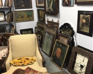 Estate Sale Art  Frames