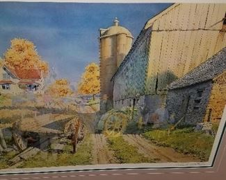 """More Collector's Edition Ghost prints by Charles Peterson!! """"Hayride"""" 1147 0f 2600."""