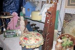floral stool etc