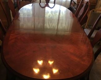 Lexington Furniture Company Table and 6 chairs