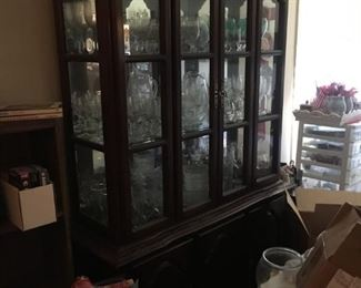 Large Matching China Cabinet