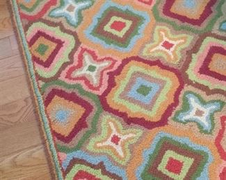 Small area rug.