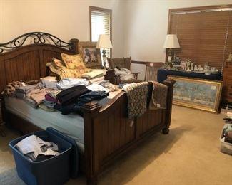 Bedroom set is sold