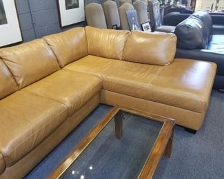 Leather Sectional Couch By Italsofa