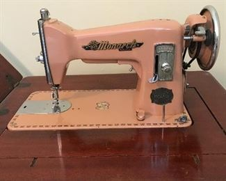 Vintage Monarch Deluxe Sewing Machine
