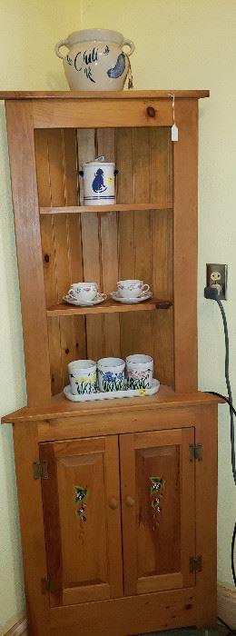 corner cabinets (2)