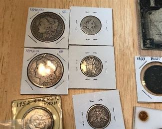 graded silver coins