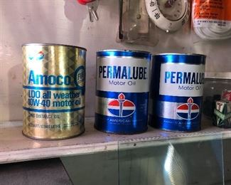 Standard Oil Cans