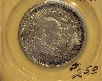 1952 Carver Washington Silver Half Dollar
