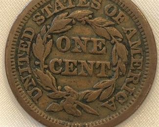 1834 One Cent Coin
