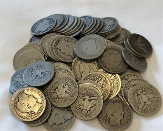 90 Silver Quarters Various Years