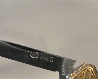 Esemco 10k Gold Pocket Knife