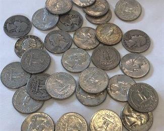 29 Silver Quarters