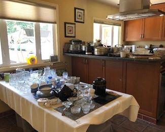 Dining Area:  Glasses, Cups, Etc.