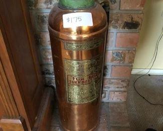 Vintage Extinguisher (Copper)