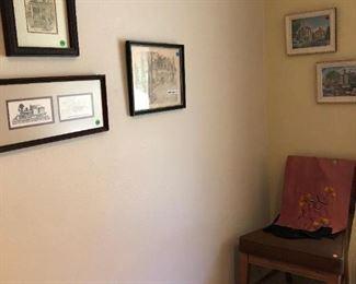 Bedroom:  Pictures, etc.