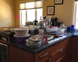 Kitchen:  Bowls, Flatware