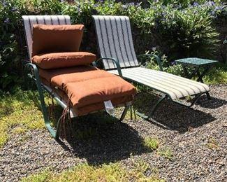 Back Yard:  Lawn Chairs