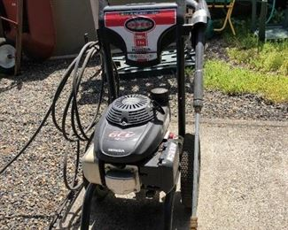 Back Yard: Power Washer