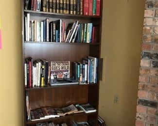 Bar & Game Room:  Books,  Shelf,