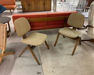 Pair Rare Thonet Chairs