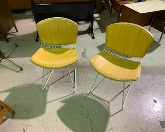 Pair Bertoia Chairs from Knoll