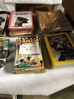 Vintage magazines & comic books