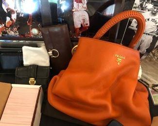 Designer Handbags including Prada
