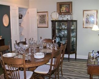 Dining Room   Oak Table, Chairs
