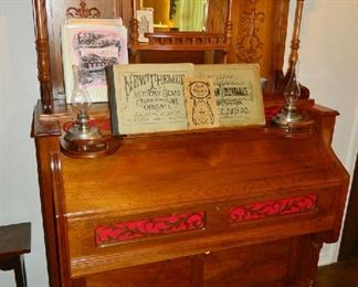1800s Estey Antique Pump Organ