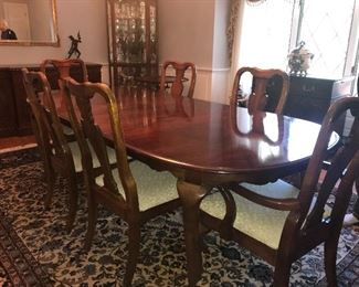 """95"""" fully extended table - includes 2  - 15' extensions plus custom pads"""