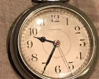 1943 (22 Jewel) Hamilton pocket watch #4992B